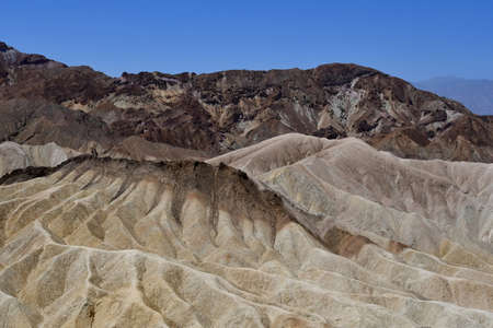 borax: USA - july 11 2016 : Zabriskie Point in the Death Valley National Park Editorial