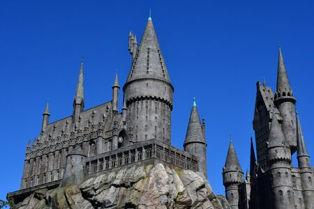 Los Angeles, Hollywood, USA - july 16 2016 : the wold of Harry Potter
