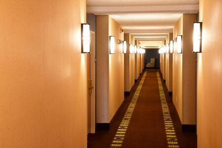 Scottsdale, USA - july 7 2016 : hall in an hotel in the city center Editorial