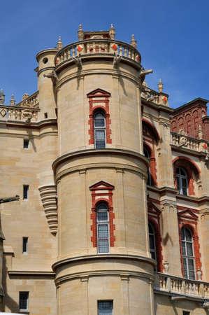Saint Germain en Laye, France - may 2 2016 : the historical old castle