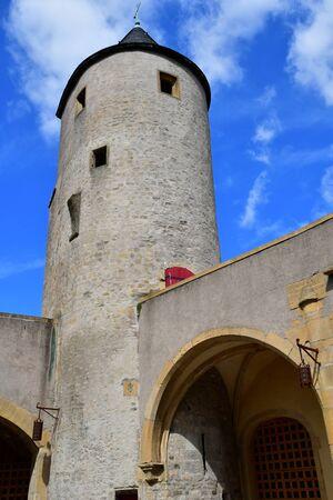 Metz, France - july 25 2016 : the picturesque porte des Allemands