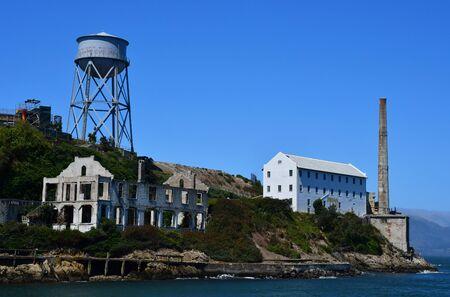 alcatraz: San Francisco; USA - july 13 2016 : the Alcatraz jail