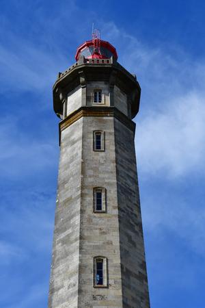 're: Saint Clement des Baleines, France - september 26 2016 : the lighthouse