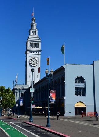 San Francisco; USA - july 13 2016 : the coastal road