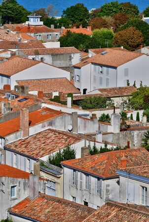 're: Saint Martin de Re, France - september 25 2016 : the picturesque village in the middle of the island