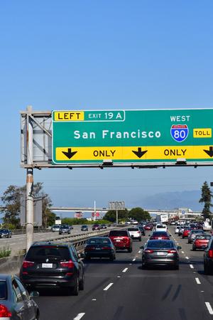 San Francisco; USA - july 13 2016 : cars on the road