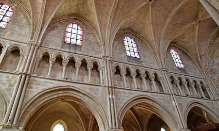 Auvers sur Oise , France - august 14 2016 : the Notre Dame de l Assomption church Editorial