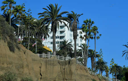 Santa Monica, California, USA - july 15 2016 : the picturesque city in summer Editorial