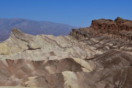 Zabriskie Point in the Death Valley National Park
