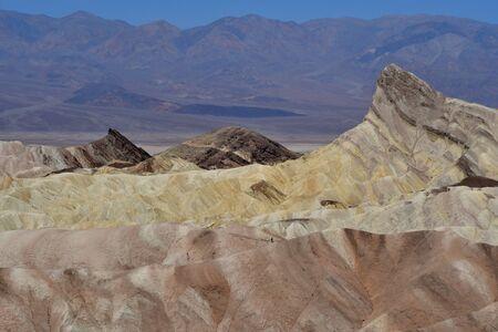 borax: Zabriskie Point in the Death Valley National Park