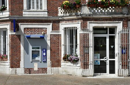 Jumieges, France - june 22 2016 : the tourism office and the post office