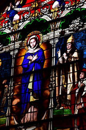 Metz, France - july 25 2016 : the Notre Dame de l Assomption church
