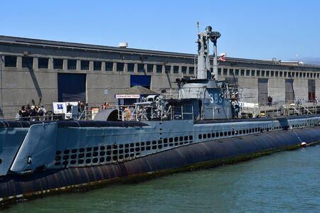 San Francisco; USA - july 13 2016 : the maritime national historical park