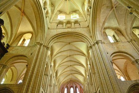 Caen; France - july 17 2017 : the Saint Etienne church
