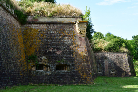 the fortification in summer Stock Photo