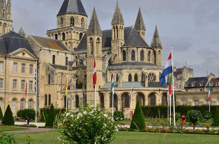 Caen; Francia - 17 de julio de 2017: el ayuntamiento Foto de archivo - 89897321