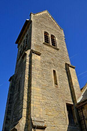 Graye sur Mer; France : the church