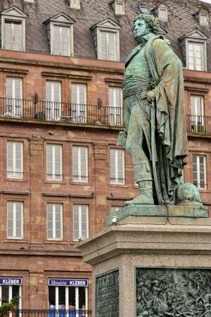 Strasbourg, France - august 13 2017 : the Kleber statue