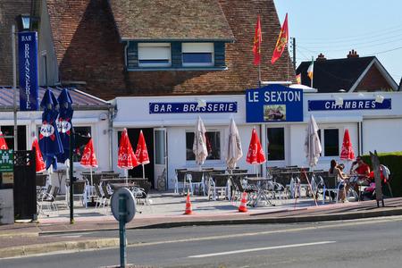 Ver sur Mer; France - july 18 2017 : a bar