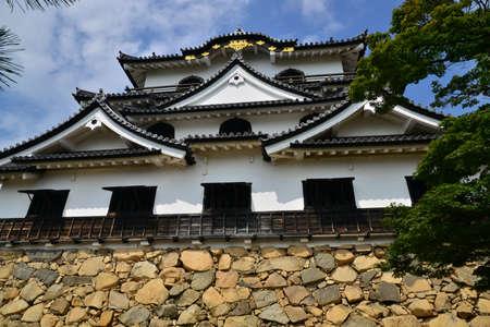 Hikone, Japan - august 9 2017 : the historical castle