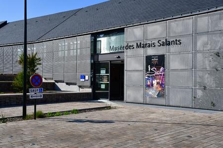 Batz sur Mer, France - april 13 2017 : the salt marsh museum Editorial