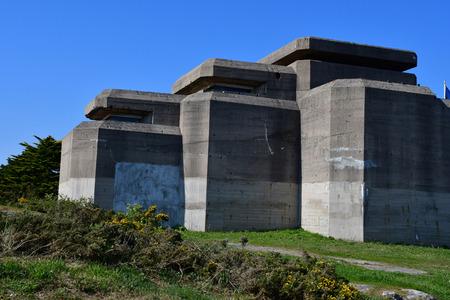 Batz sur Mer, France - april 12 2017 : Le Grand Blockhaus