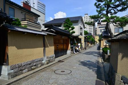Kanazawa, Japan - august 3 2017 : the Nagamachi samourai house district Banque d'images - 99494355