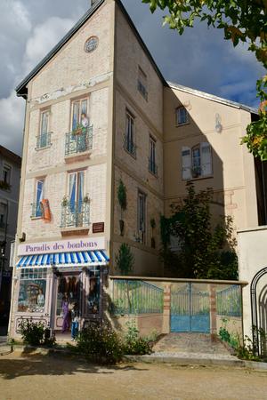 Les Mureaux; France - september 16 2017 : the city center