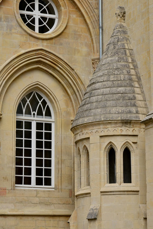 Caen; France - july 17 2017 : the duke palace Banque d'images - 105961826