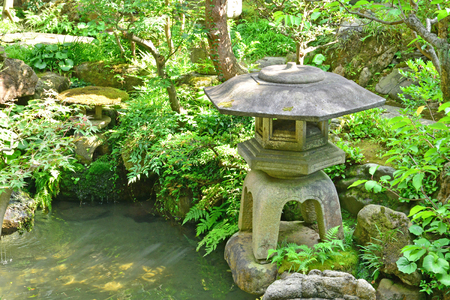 Kanazawa, Japan - august 3 2017 : the Nomura house in the Nagamachi samourai district Banque d'images - 105961901