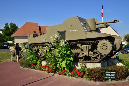 Ver sur Mer; France - july 18 2017 : a tank Editorial