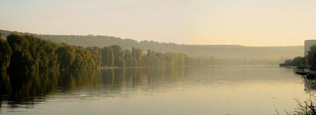Les Mureaux; France - october 3 2011 : the Seine riverside