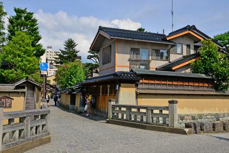 Kanazawa, Japan - august 3 2017 : the Nagamachi samourai house district Banque d'images - 108405453