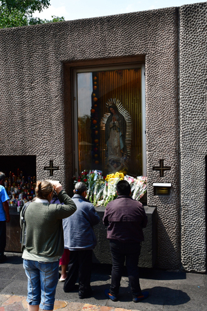 Mexico;  United Mexican States - may 13 2018 : the Basilica Our Lady of Guadalupe