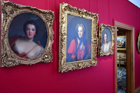 Paris; France - december 22 2017 : the Cognacq Jay museum in hotel Donon 報道画像