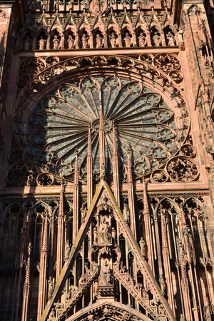 Strasbourg, France - july 28 2017 : the cathedral