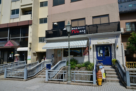 Kanazawa, Japan - august 1 2017 : the city near the Nagamachi samourai district Banque d'images - 108704865