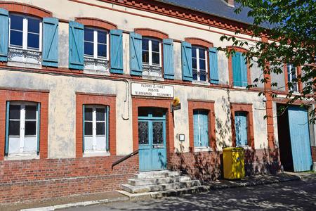 Fleury la Foret, France - september 7 2016 : the post office