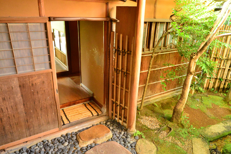 Kanazawa, Japan - august 3 2017 : the Nomura house in the Nagamachi samourai district Banque d'images - 108847510