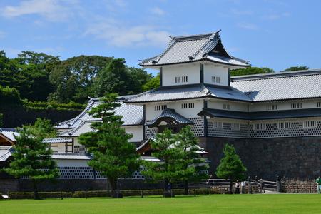 Kanazawa, Japan - august 2 2017 : the 15 th century castle Sajtókép