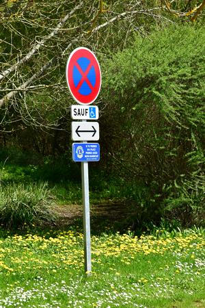 Giverny; France - april 17 2018 : the picturesque painters village in spring Sajtókép