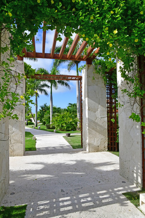 Punta Cana, Dominican Republic - june 4 2017 : an hotel Editorial