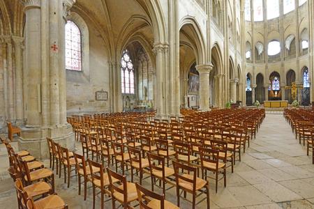 Mantes la Jolie; France - june 13 2016 : the historical collegial church