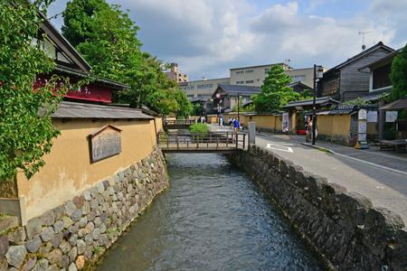 Kanazawa, Japan - august 3 2017 : the Nagamachi samourai house district Banque d'images - 109050854