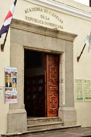 Santo Domingo, Dominican Republic - may 31 2017 : museum in science academy