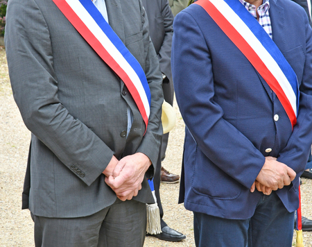 Yvelines, France - june 2016 : councillors 報道画像