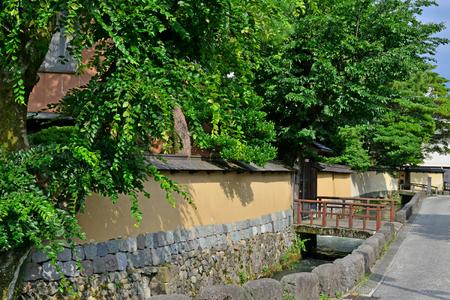 Kanazawa, Japan - august 3 2017 : the Nagamachi samourai house district Banque d'images - 109122598