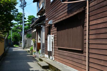 Kanazawa, Japan - august 3 2017 : the Nagamachi samourai house district Banque d'images - 109122949