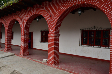 Zinacantan; United Mexican States - may 15 2018 : the village centre Editorial