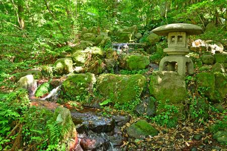 Kanazawa, Japan - august 3 2017 : the Oyama Jinja shrine